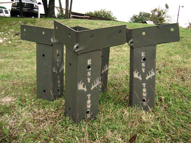Home Page E Z Tower Hunting Blind Brackets 015