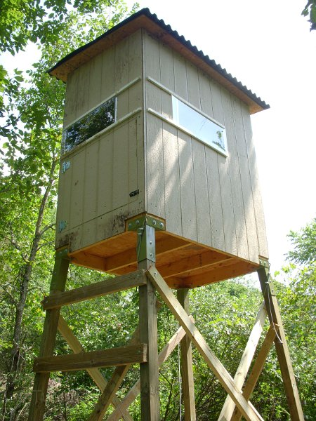 Home Page E Z Tower Hunting Blind Brackets Dscn1804