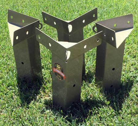 E Z Tower Deer Blind Brackets
